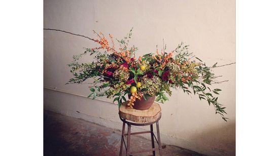Get the Look: Wild Fall Flower Arrangements