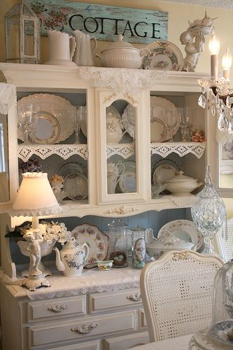 Dining Room by Romantic Home, via Flickr