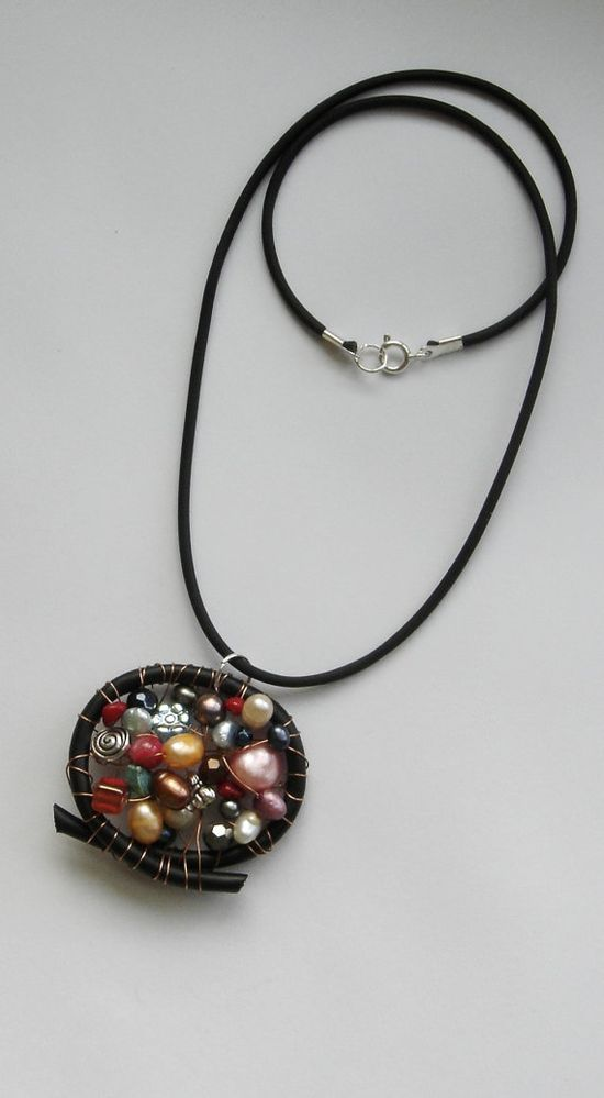Geek jewelry Necklace Eco friendly mothers day  by BBBsDesigns, $18.00