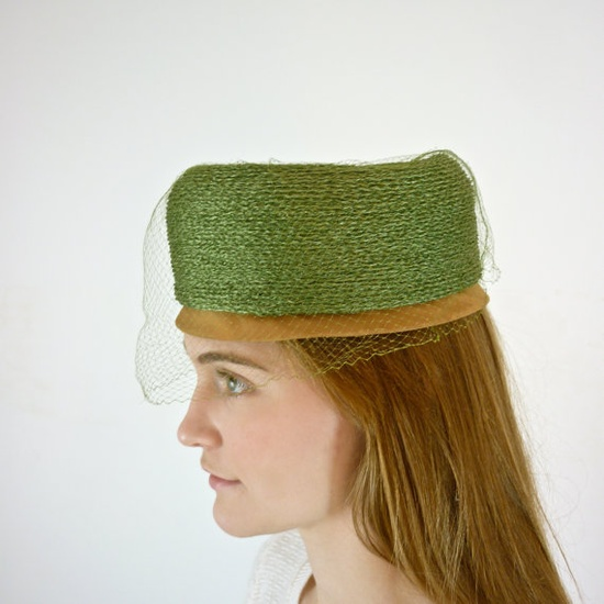 50s Pillbox Hat