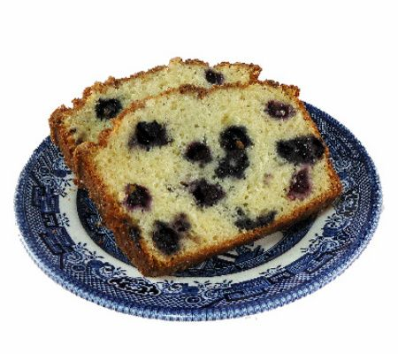 Sugar Crusted Blueberry Quick Breads
