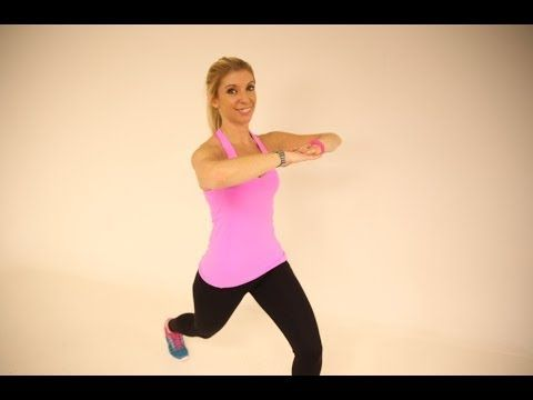 BUM & THIGHS WORKOUT WITH LISA-JANE FROM WILDCAT FITNESS