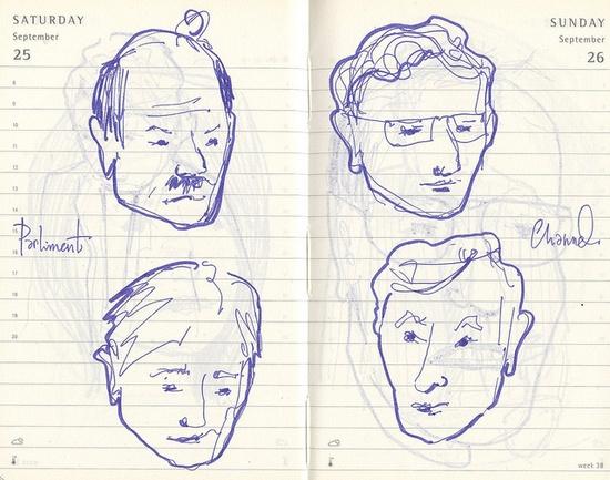 peeps by andrea joseph's illustrations, via Flickr