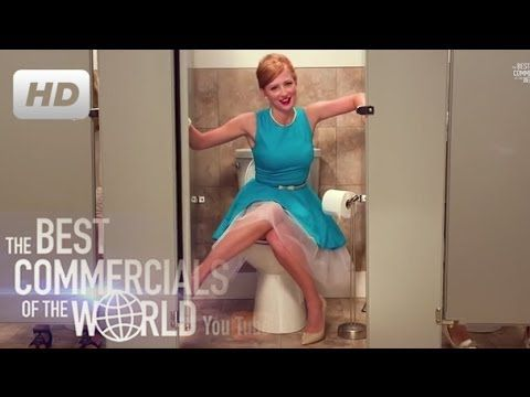 ** Girls Don't Poop! Funny Commercial - funny commercial -