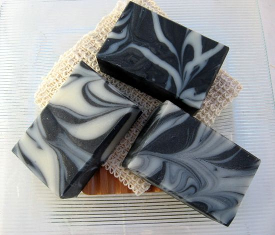 Organic Handmade Soap Activated Charcoal and by SweetSallysSoaps, $7.00