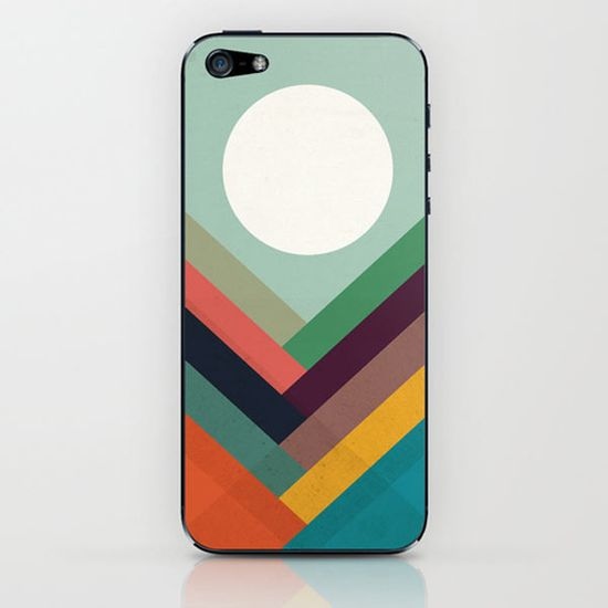 Rows of valleys iPhone skin by Budi Satria Kwan