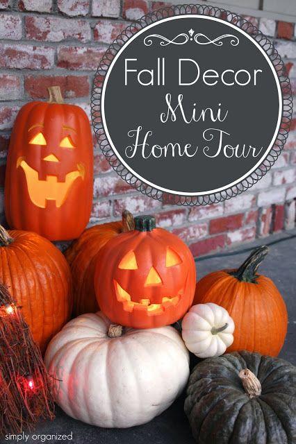 Fall & Halloween Home Decor