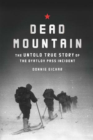 Dead Mountain book cover design