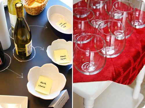 DIY Easy & Cheap Wine Tasting Party  by (Georgia