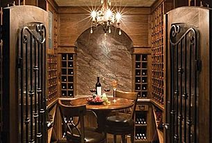 Our own private wine tasting room
