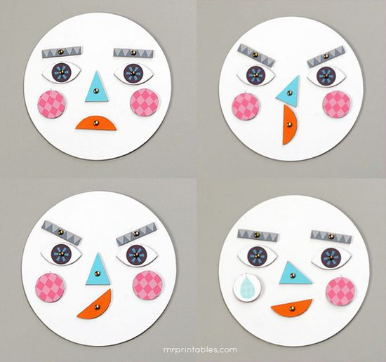 Learning about Emotions - Mr Printables