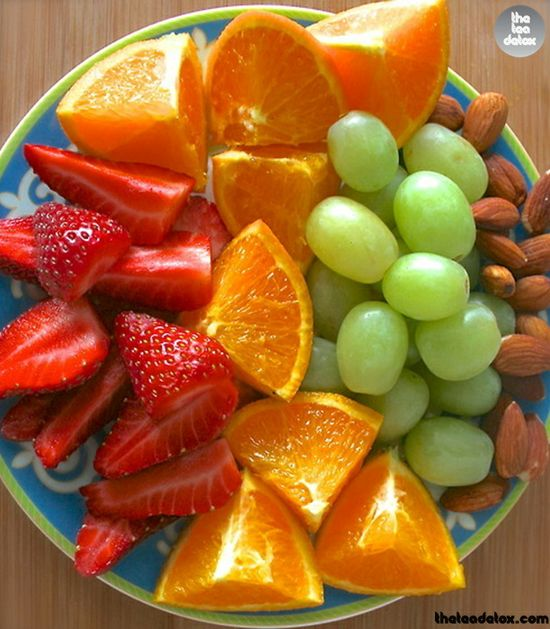 Fresh Nuts and Fruits..  Happy Morning...  #theteadetox #diet #detox #fresh #fruits #nuts www.teadetox.com