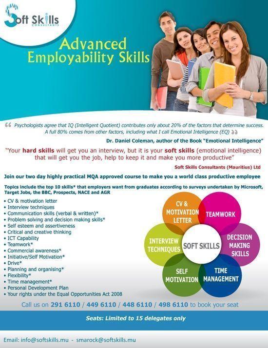 Soft Skills (Mauritius) #self personality #soft skills #softskills