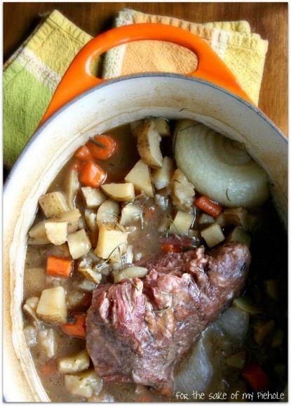 beef brisket stew~sunday supper