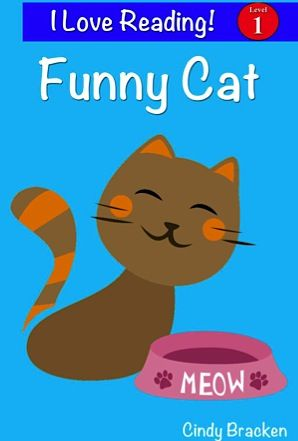 FREE Kids e-Book: Funny Cat {Level 1 Reader}