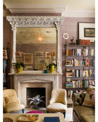 that massive marble fireplace is to die for on such a grand scale.