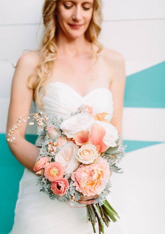 succulent, roses, calla lilys and ranaculus bridal bouquet