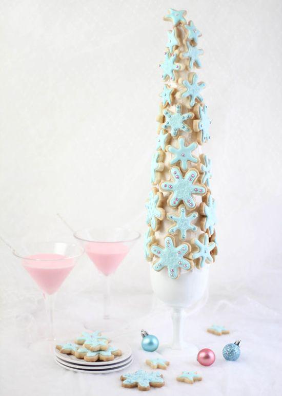 sugar cookie tree how-to (sprinklebakes.com)
