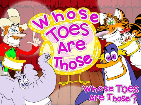 FREE ATM Welcome to Whose Toes Are Those, the game show where players identify funny characters by their toes!