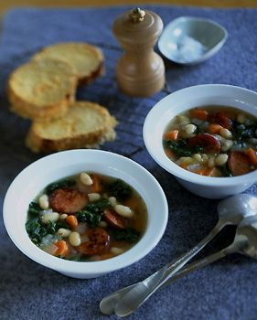 Kale and White Bean Soup Recipe