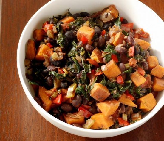 Brazilian Black Bean and Vegetable Stew  by tastespace #Vegetarian #Vegetable_Stew #Black_Bean #tastespace