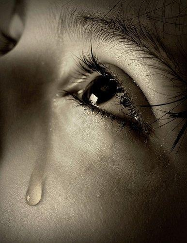 A child's tears breaks my heart