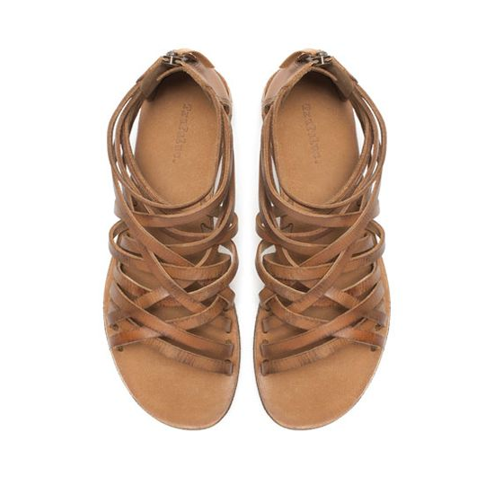sandals.  zara.