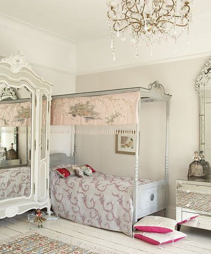 i want to find an antique canopy bed -- bigger than this