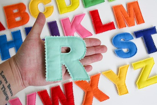 Toy Alphabet Letters by JaneeLookerse