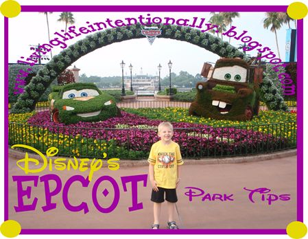 Disneyworld EPCOT Vacation tips - #8 in series with tons of vacation tips!