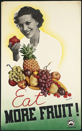 Eat more fruit by Boston Public Library,