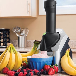 Enter for a chance to win this easy-to-operate frozen #treat machine that uses #bananas and other #yummy ingredients for low-cost, #healthy #desserts! #free #giveaways