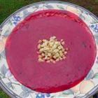 beet and potato soup