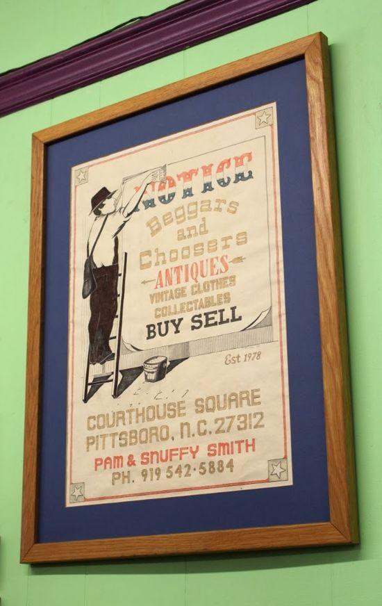 Great Vintage Style Signage! #vintage #shop