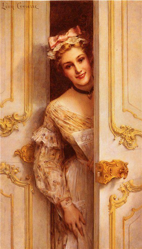 The Pretty Maid; Leon Comerre
