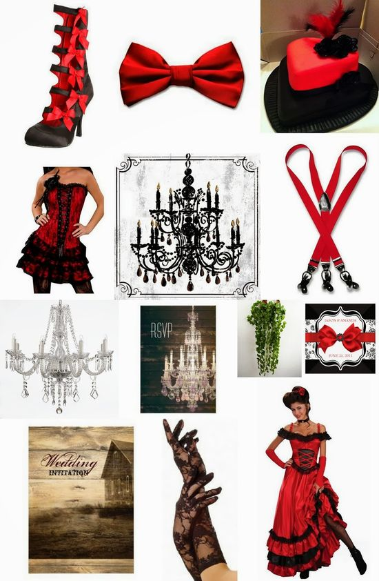 Burlesque Barnyard Wedding Ideas - Australian Wedding Ideas