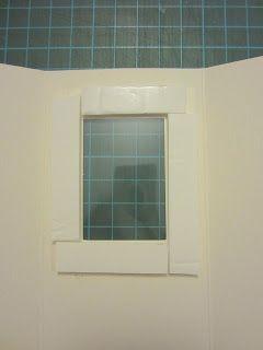 shaker window homemade cards