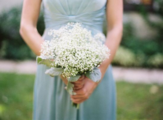 Baby's breath bouquet ~ Photography by yazyjo.com, Floral Design by floralconsultants...