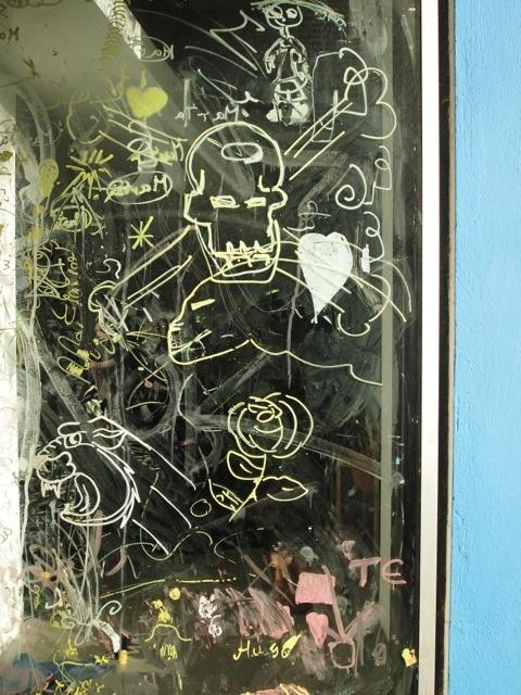 window graffiti