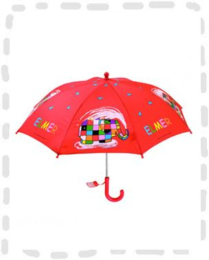 Lovely kids umbrella. Elmer umbrella from Petit Jour. £9.99