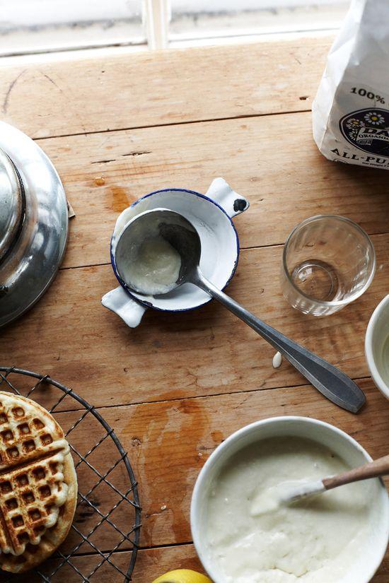 waffle mornings.