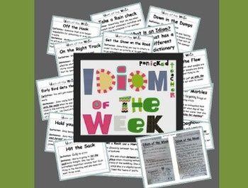Idiom of the Week- A School Year of #softskills #self personality #soft skills
