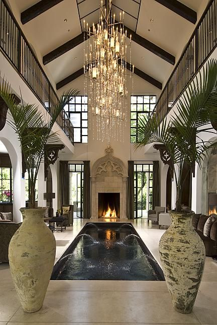 This House... The entire house is centered around the indoor pool. It's stunning !!