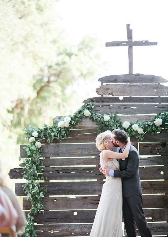 Vintage woodland wedding