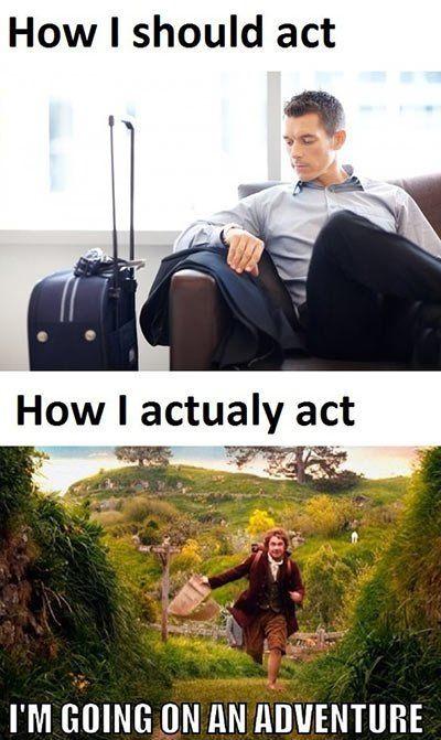 when I travel somewhere…