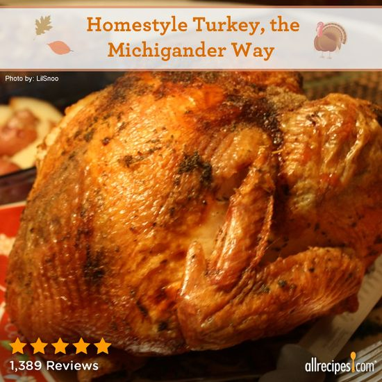 Homestyle Turkey, the Michigander Way