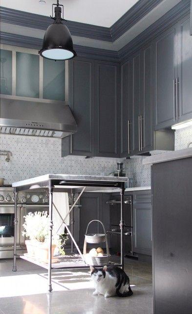 Slate Gray Kitchen