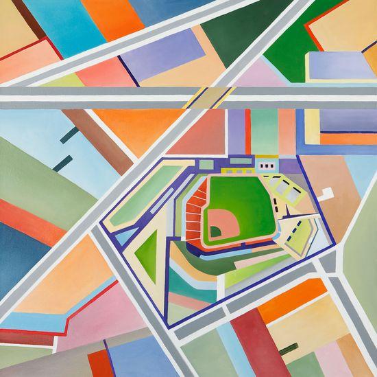 Fenway Park Map