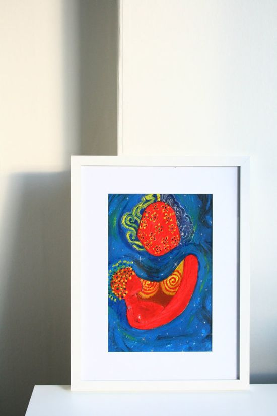 SALE! Mother Universe Oil Painting