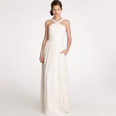 gorgeous jcrew gown